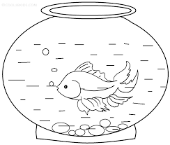 Small Picture Goldfish Coloring Pages