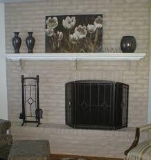 Gray Brick Fireplace Brick Fireplace Makeover For Holiday Season Brick Anew Blog