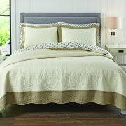 Better Homes and Gardens Quilts & Bedspreads - Walmart.com & Better Homes and Gardens Solid Border Quilt Collection Adamdwight.com