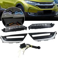 Drl Light Honda Crv 1 Pair Led Daytime Running Light For Honda Crv Cr V 2017 Fog