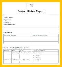 Staff Activity Report Template