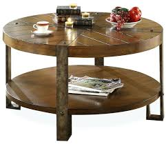 round wood and metal coffee table protected from round wood and metal coffee table finishing added