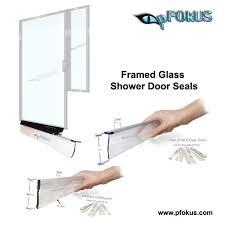 frame shower door seals pfokus