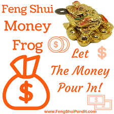 money frog or wealth toad feng shui