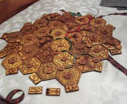 How To Make Wooden Games Wood Burned Settlers of Catan Board 100 Steps with Pictures 75