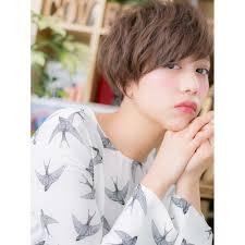 アシンメトリーな女っぷりショート Cover Hair Bliss 北浦和西口店