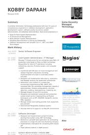 Software Developer Resume Stunning Software Engineer Resume Examples Resume Badak