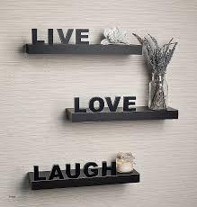 wood letters for wall decor beautiful danya b yu075 live love laugh wall shelves set of 3