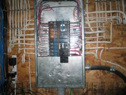 replacing a breaker in your panel electrical online figure 2 panel cover removed