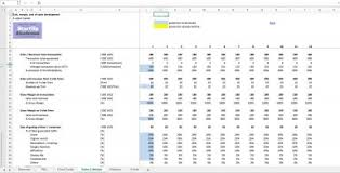 3 Sided Marketplace Excel Financial Model Template