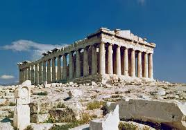 famous buildings. The Remnants Of Parthenon In Acropolis Famous Buildings