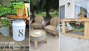 diy backyard furniture woohome 0