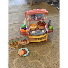 Bộ Đồ Chơi Nấu Ăn Nhà Bếp Cho Bé Gái- Nhựa Nguyên Sinh An Toàn chính hãng