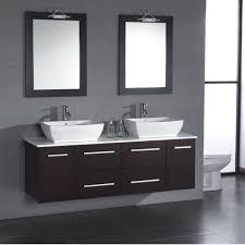 wall mounted double vanity. Wonderful Mounted Cambridge Plumbing Poplar 62 For Wall Mounted Double Vanity Bathtubs Plus