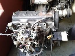 TOYOTA 1.3 2E 12 valve ENGINE. ALSO GEARBOXES, STARTERS, CYLINDER ...