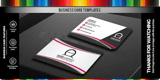 Simple Professional Business Card Design Style 2 Codester