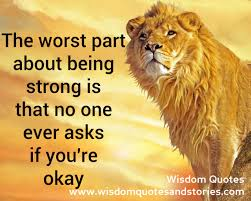 Quotes On Being Strong