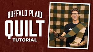 Make an <b>Easy</b> Buffalo <b>Plaid Quilt</b> with Rob! - YouTube