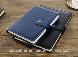 office agenda china custom pu leather hardcover diary book office supply agenda
