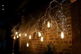hanging lights from trees wedding low voltage tree lanterns architecture light fixtures diy branch chandelier for