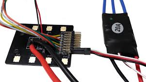 power system wiring 3dr site scan commercial drone platform you should now have eight escs connected to the pdb through the black and red two wire cables and the black red and white three wire cables
