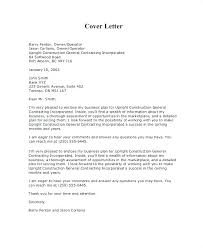Business Proposal Cover Letter Example 6 Introduction Sample Plan ...