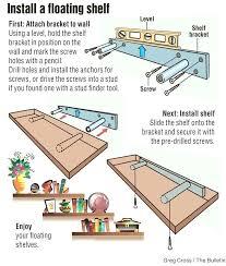 how to make floating shelves make floating shelf install floating shelf project is remarkably simple inexpensive how to make floating shelves