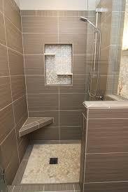 modern bathroom tile gray. Shower With Gray Tile, Bench And Beachstone Floor Modern-bathroom Modern Bathroom Tile