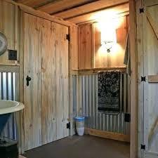 tin galvanized shower walls in bathroom corrugated metal