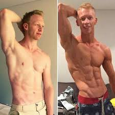 my transformation following the shredded program