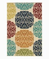 love this product blue brown ornate indoor outdoor rug