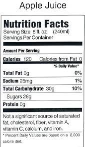 apple juice nutrition label nutritional information thumb thumb thumb thumb somersby apple cider nutrition label