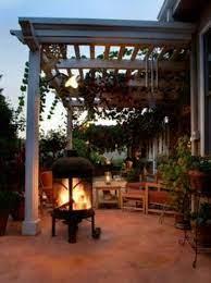 Chiminea Outdoor Rooms Outdoor Patio Backyard