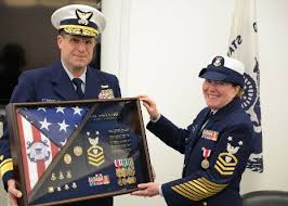 Uscg Reserves Seely Retires From Uscg Reserve Michigan Technological University News