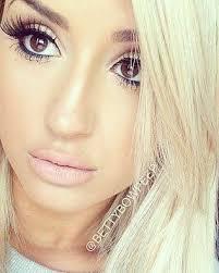 best makeup for blonde hair brown eyes