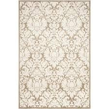 safavieh amherst wheat indoor outdoor rug 5 x 8
