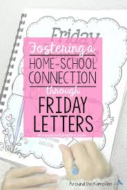 Fostering the home school connection with friday letters JPG