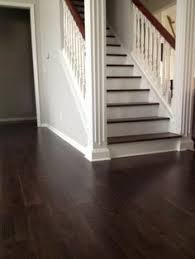 espresso wide plank floors were installed throughout my home to replace carpet and bamboo