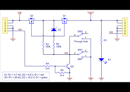 mini mosfet slide switch reverse voltage protection sv schematic diagram of mosfet slide switch reverse voltage protection