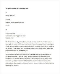 Job Application Letter Formats Sample Email Job
