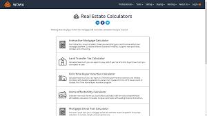 Comprehensive Mortgage Calculator Our Mortgage Calculators Wowa