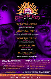 big easy rollers sweatfest 2016 poster