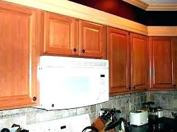 inch deep microwave over range contemporary the stove throughout elegant remodel 1 12 depth countertop de