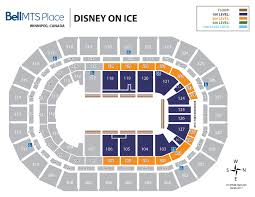 Mts Arena Seating Chart Seating Bell Mts Place Bell Mts Place