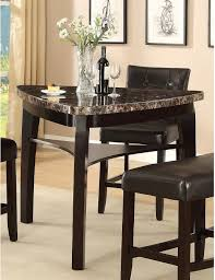 Triangular Kitchen Table Sets Furniture Dining Room Triangle Dining Table With Benches Black