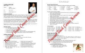 private chef resume ilivearticles info private chef resume example 1