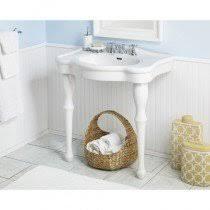 bathroom console vanity. Cheviot Windsor Medium Console Sink - 8 Inch Faucet Drillings Bathroom Vanity