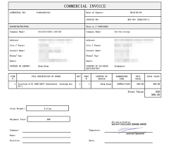 Commercial Invoice Commercial Invoices Explained