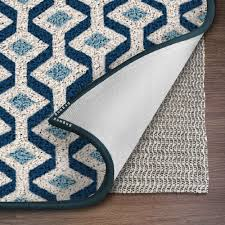 ninja brand gripper rug pad size 8 x 10 for hardwood floors hard surfaces top gripper adds cushion and maximum protection works with all types of