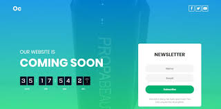 Entry 10 By Visionxtech For Coming Soon Landing Page